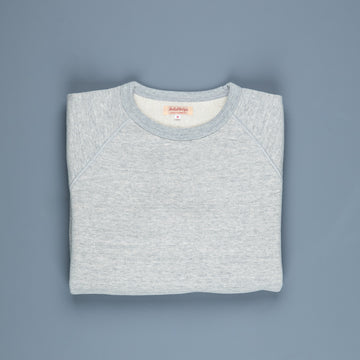 The Real McCoy's loopwheel raglan sleeve sweatshirt Ash Grey
