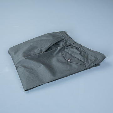 Incotex Model 64 Popelino Drawstring Pants Grigio Medio