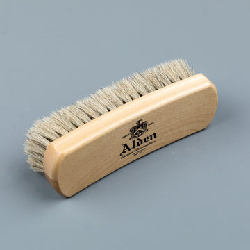 Alden horse hair brush small natural