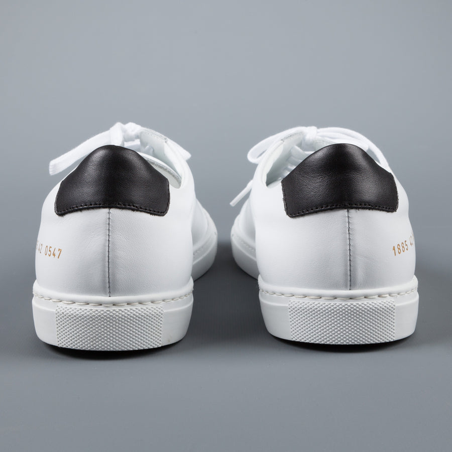 Common Projects Achilles Retro Low 1885 white black