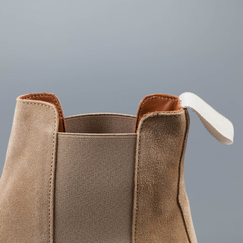 Common Projects Chelsea Boot in Tan Suede
