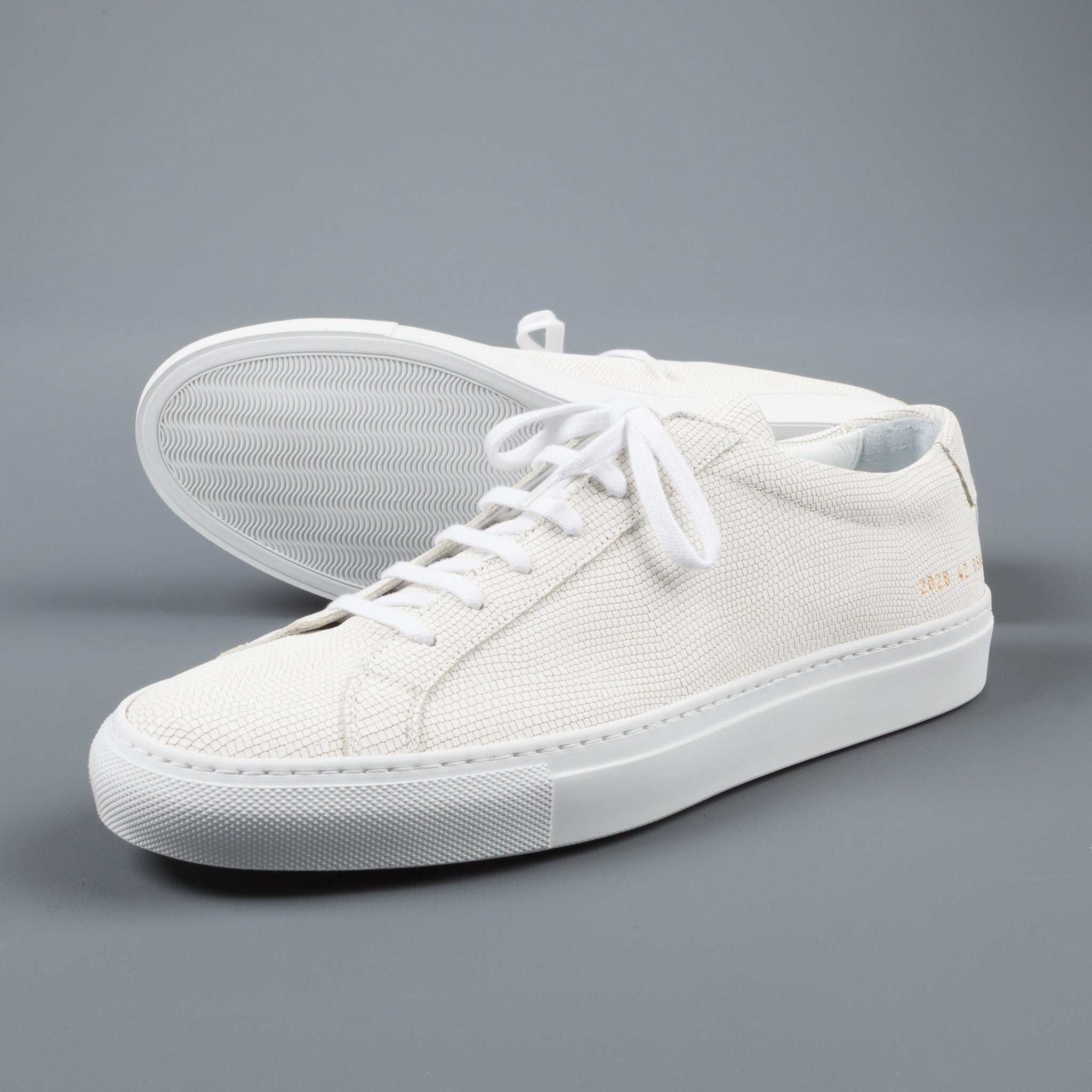 common projects achilles special edition white frans boone store. Black Bedroom Furniture Sets. Home Design Ideas