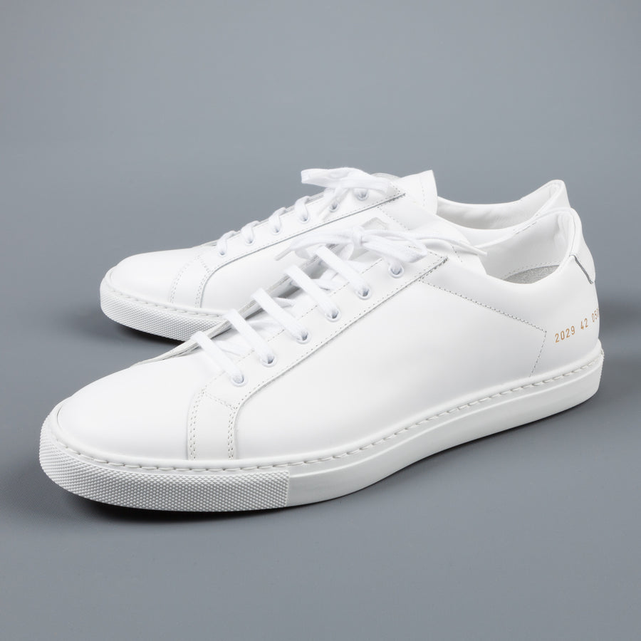 Common Projects Achilles Retro Low in Boxed Leather
