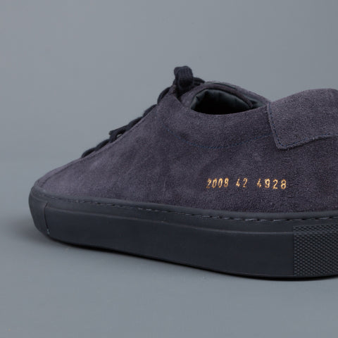 Common Projects Achilles low in suede navy