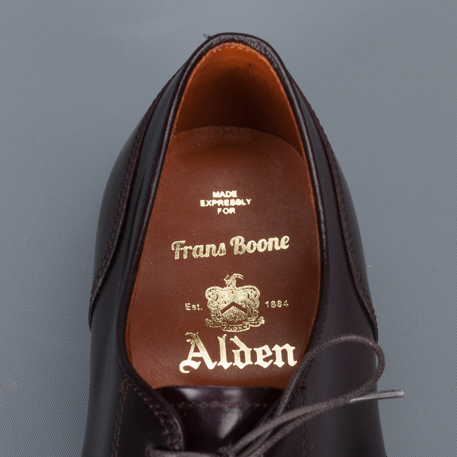 Alden color #8 NST blucher