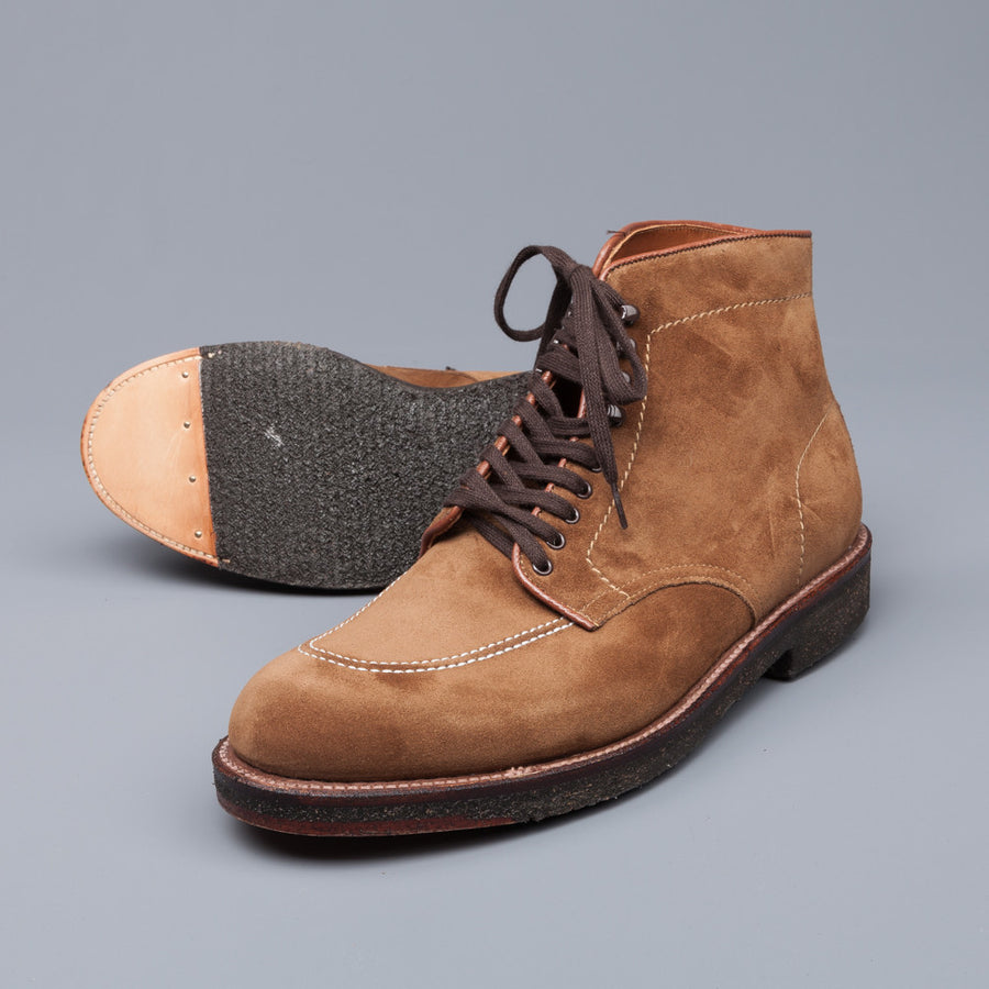Alden x Frans Boone snuff suede indy