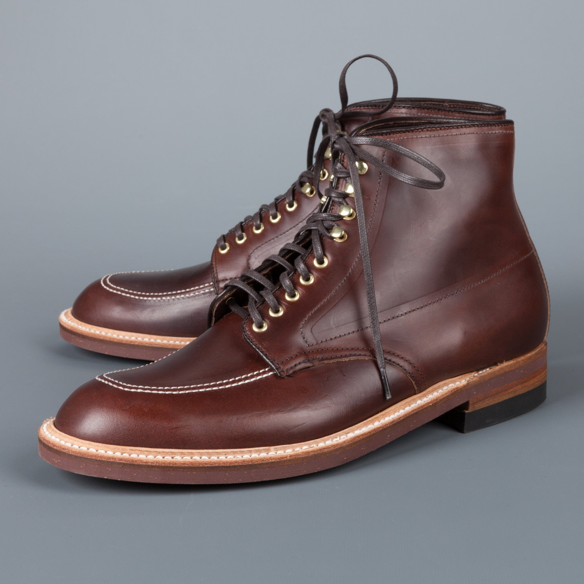 Re stock alden x frans boone brown chromexcel indy boots for The alden