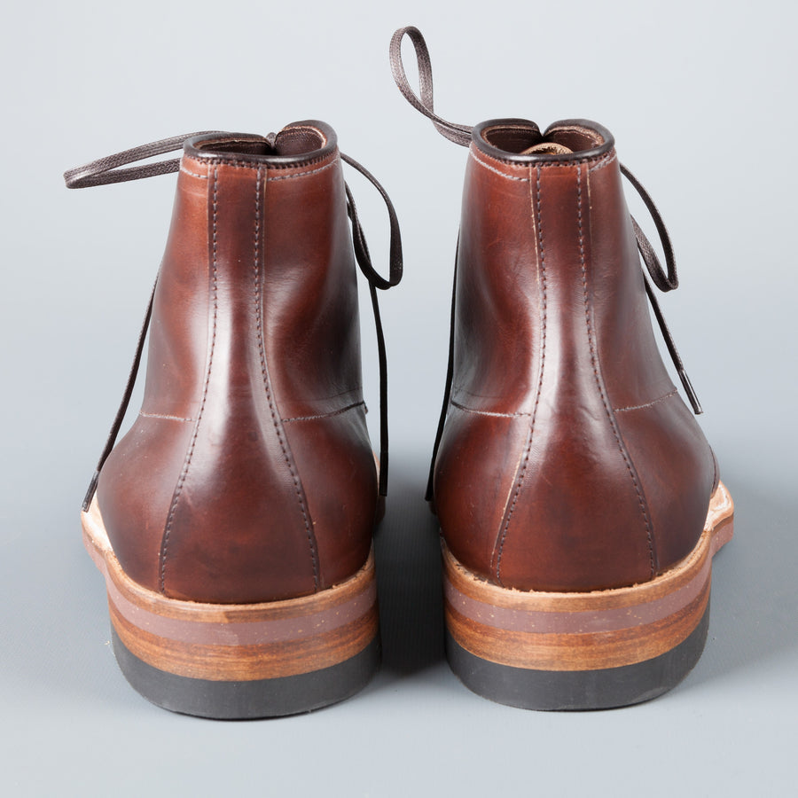 Re-stock! Alden x Frans Boone Brown Chromexcel Indy boots