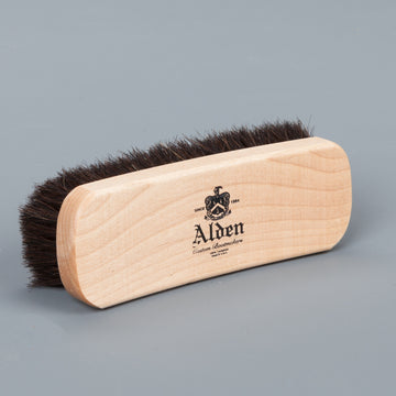 Alden horse hair brush dark