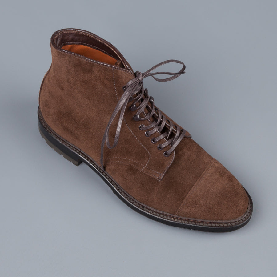 New Stock! Alden Humus suede Parajumper boots on commando sole