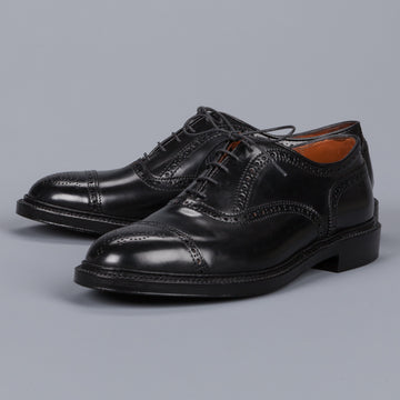 Alden black cordovan straight