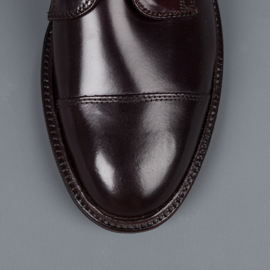 Alden x Frans Boone unlined captoe #8 cordovan on flex sole