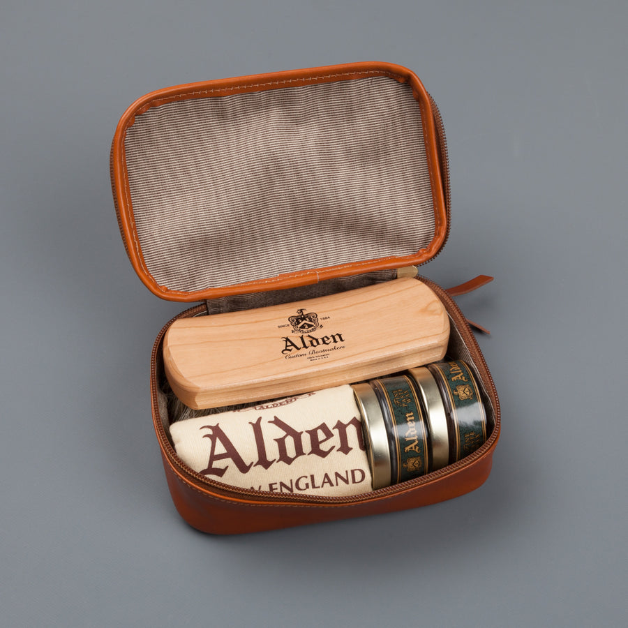 Alden Leather Polishing Kit Brown