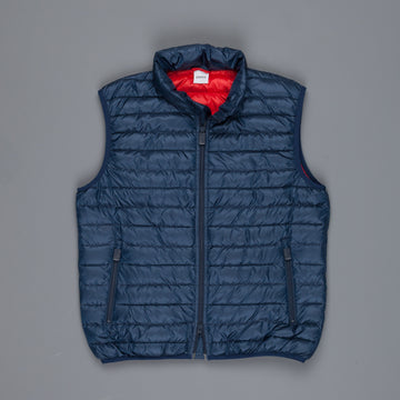 Aspesi New Agile Light Vest Blu Navy Rosso