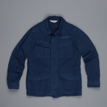 Aspesi CF-1 Bastogne Jacket Stone Wash China Blue