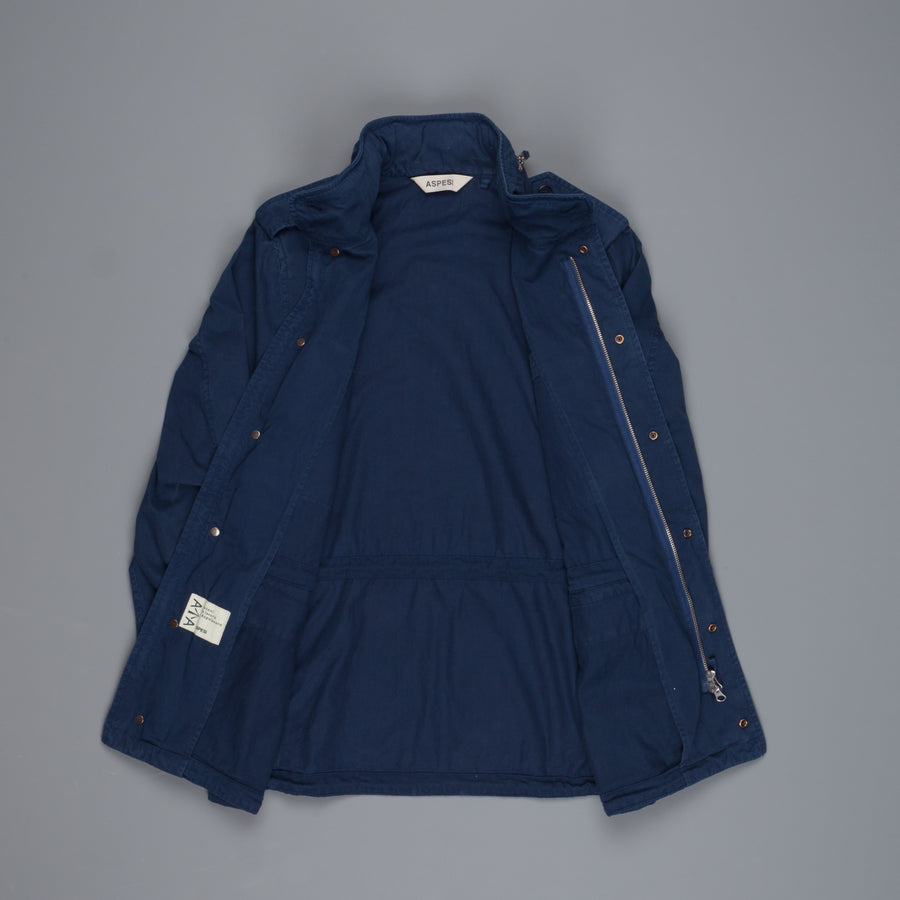 Aspesi MiniField Jacket Stone Wash China blue