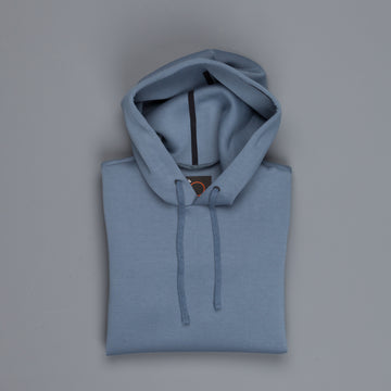 Aspesi AY67 Hooded Sweat Azzure Blue