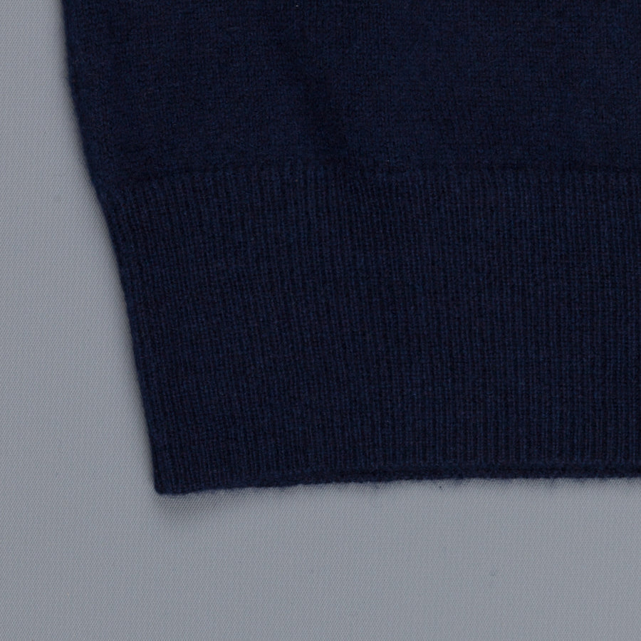 Aspesi Cashmere V Neck sweater Blue Navy