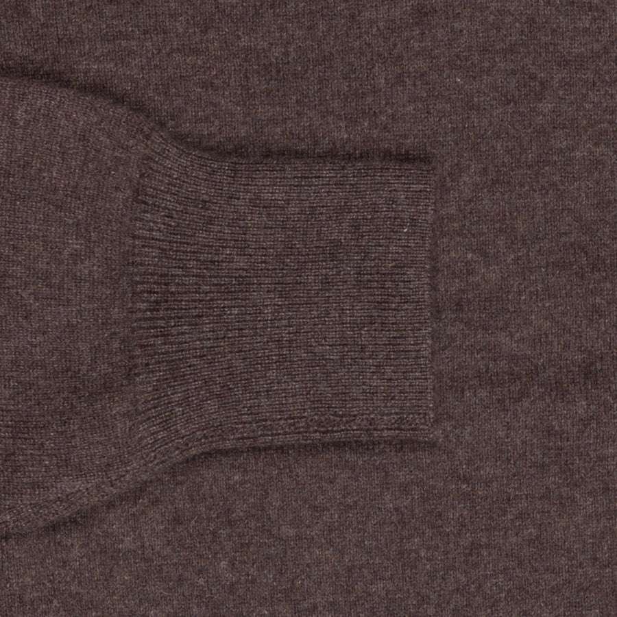 Aspesi Cashmere V Neck sweater Marrone