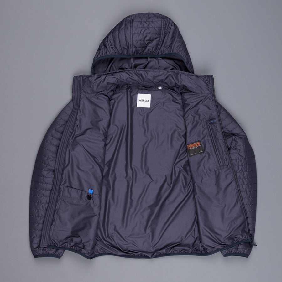 Aspesi hooded Puccio jacket navy