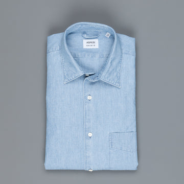 Aspesi denim shirt light blue