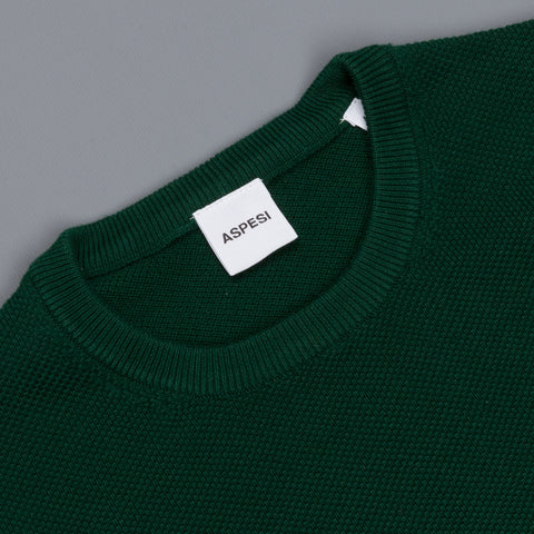 Aspesi Sweater Crew Neck Model M203 Green