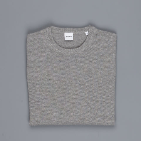 Aspesi Sweater Crew Neck Model M203 Grey