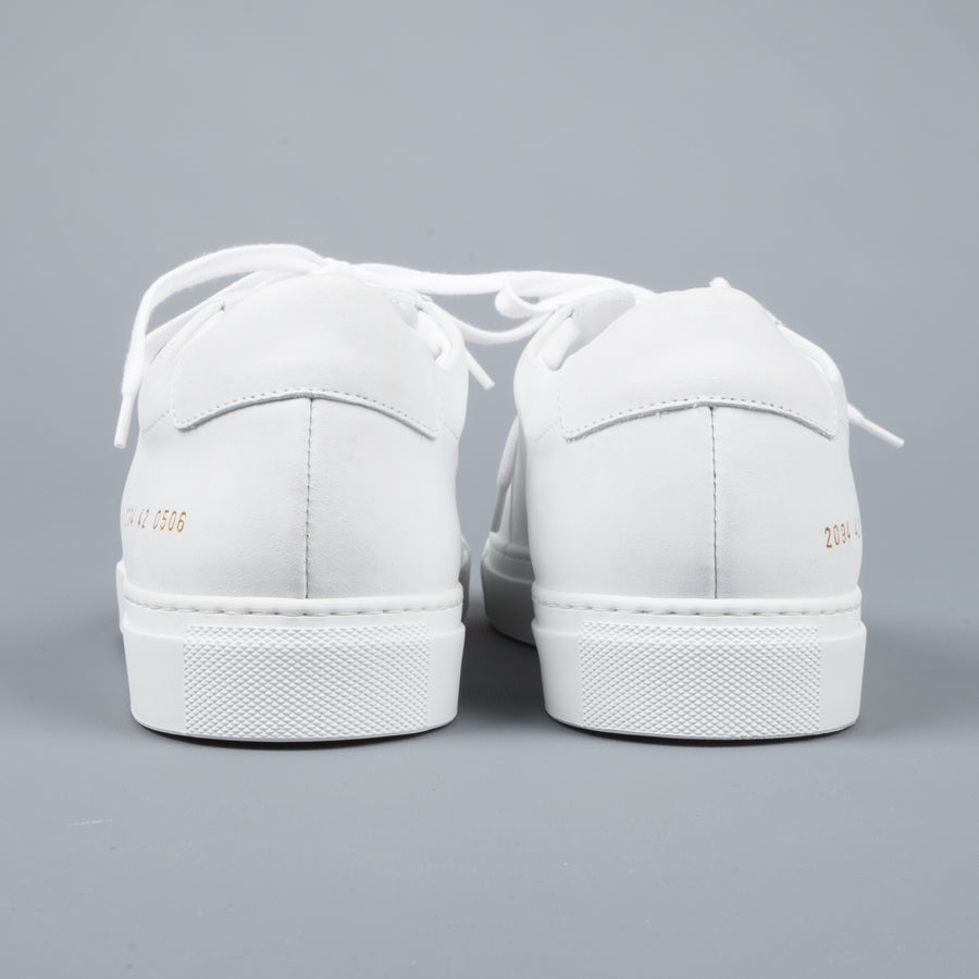 Common Projects For Frans Boone Store 2094 Bball in Nubuck white