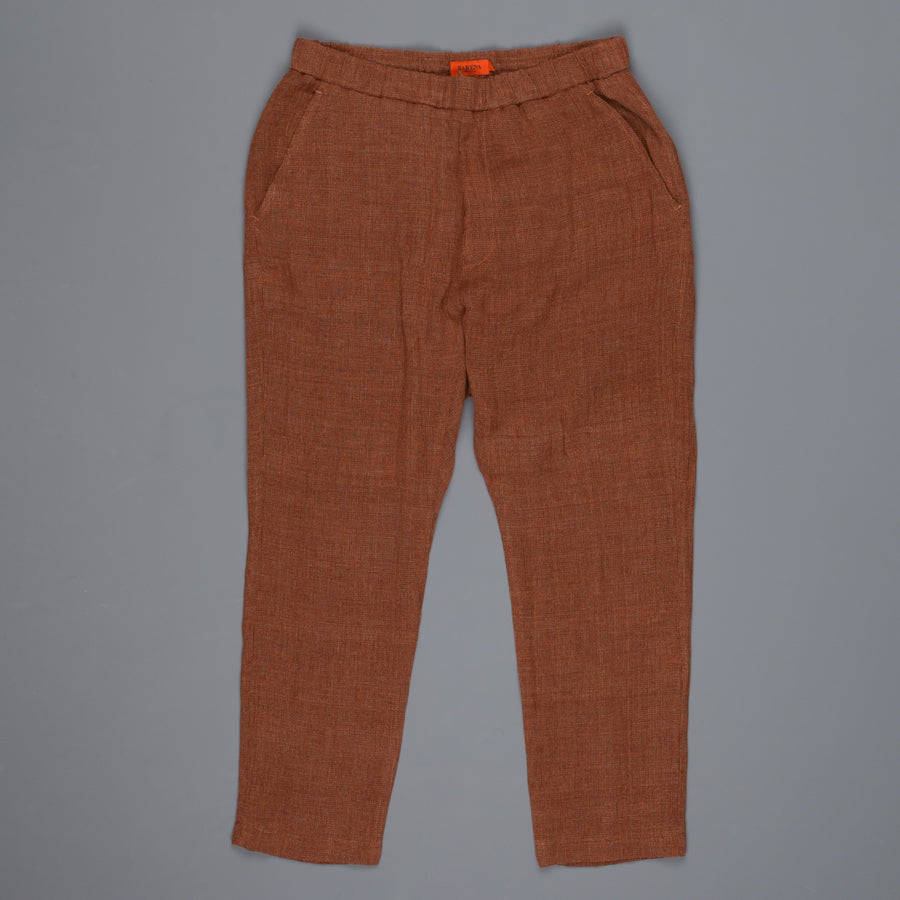 Barena Arenga linen pants copper