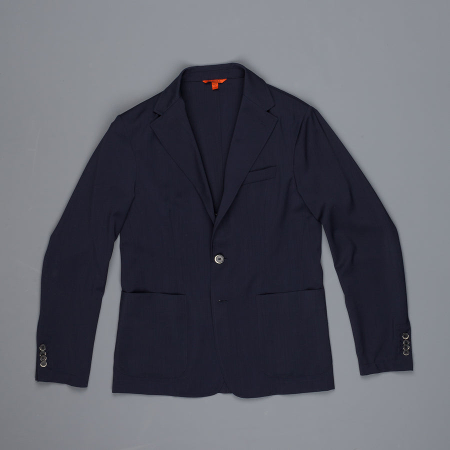 Barena Piero jacket in lightweight wool blu