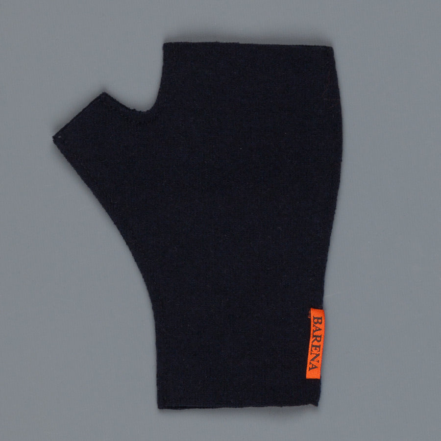 Barena knit gloves Formentera knit Navy