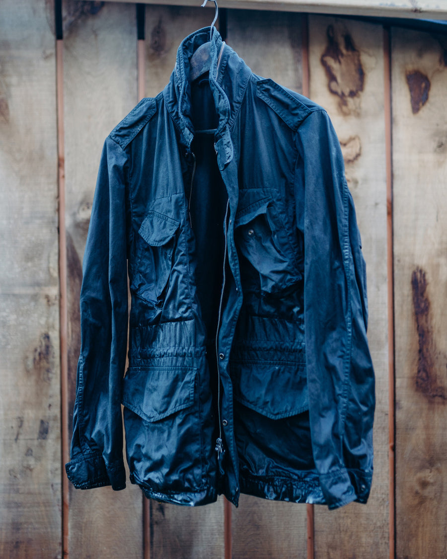 (Closed) Pre Order! Exclusive Blueprint Amsterdam Indigo over dyed Aspesi Toronto jacket