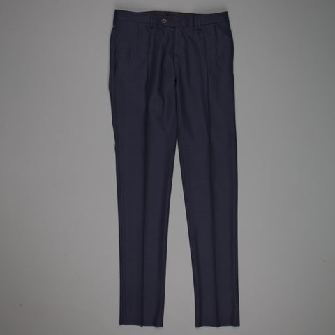 Caruso x Frans Boone hopsack pants navy