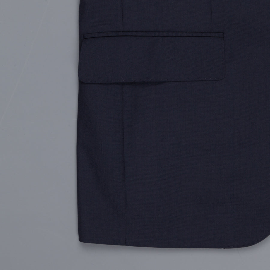Caruso Norma Suit Timeless Collection Zealander wool navy