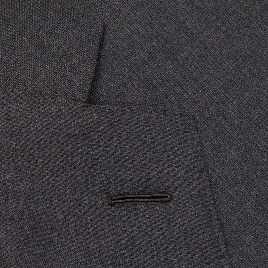Caruso Norma Suit Timeless Collection Zealander wool grey