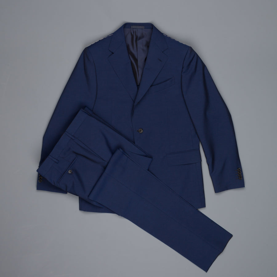 Caruso Wool Mohair Drop 6 Norma suit blu