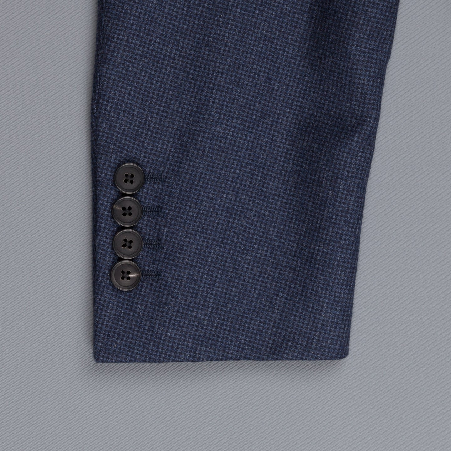 Caruso Nabucco Suit blu wool houndstooth