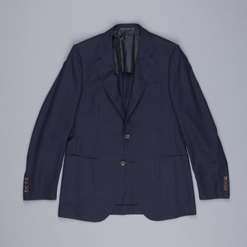 Caruso x Frans Boone hopsack jacket navy