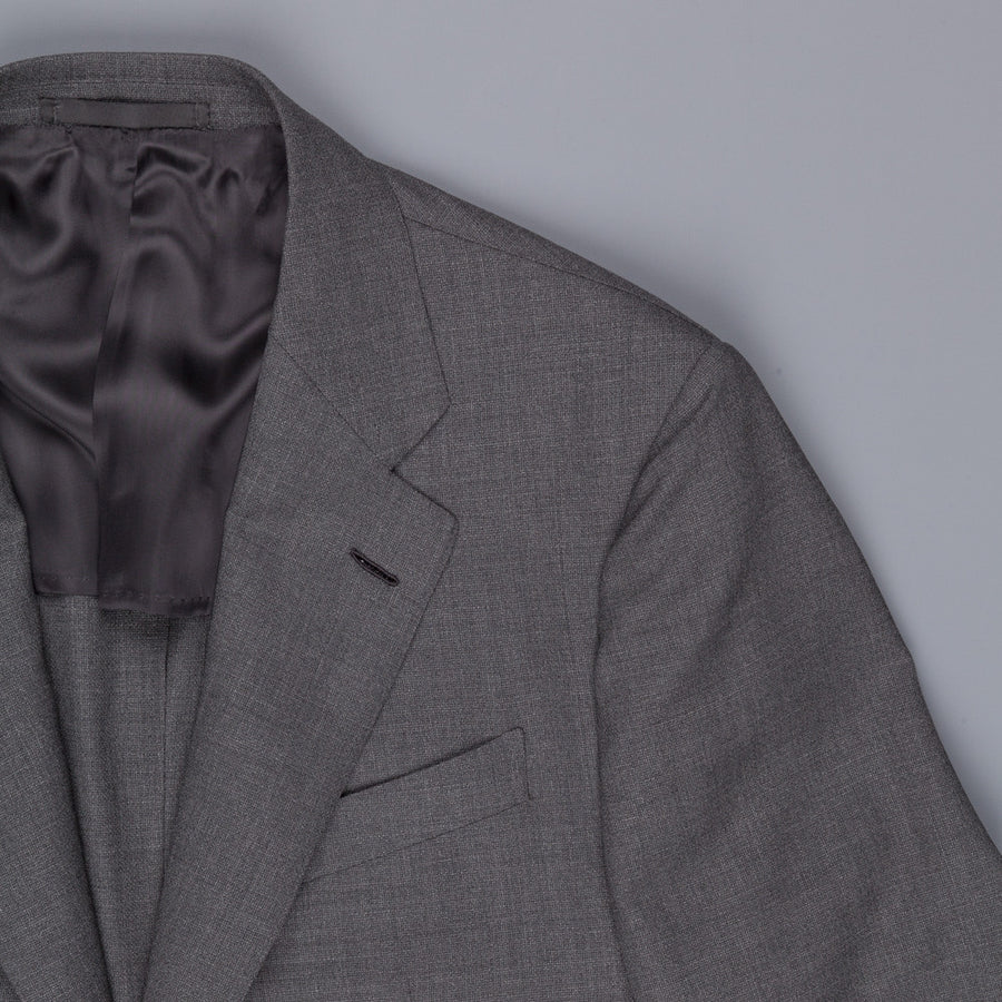 Caruso x Frans Boone hopsack suit grey