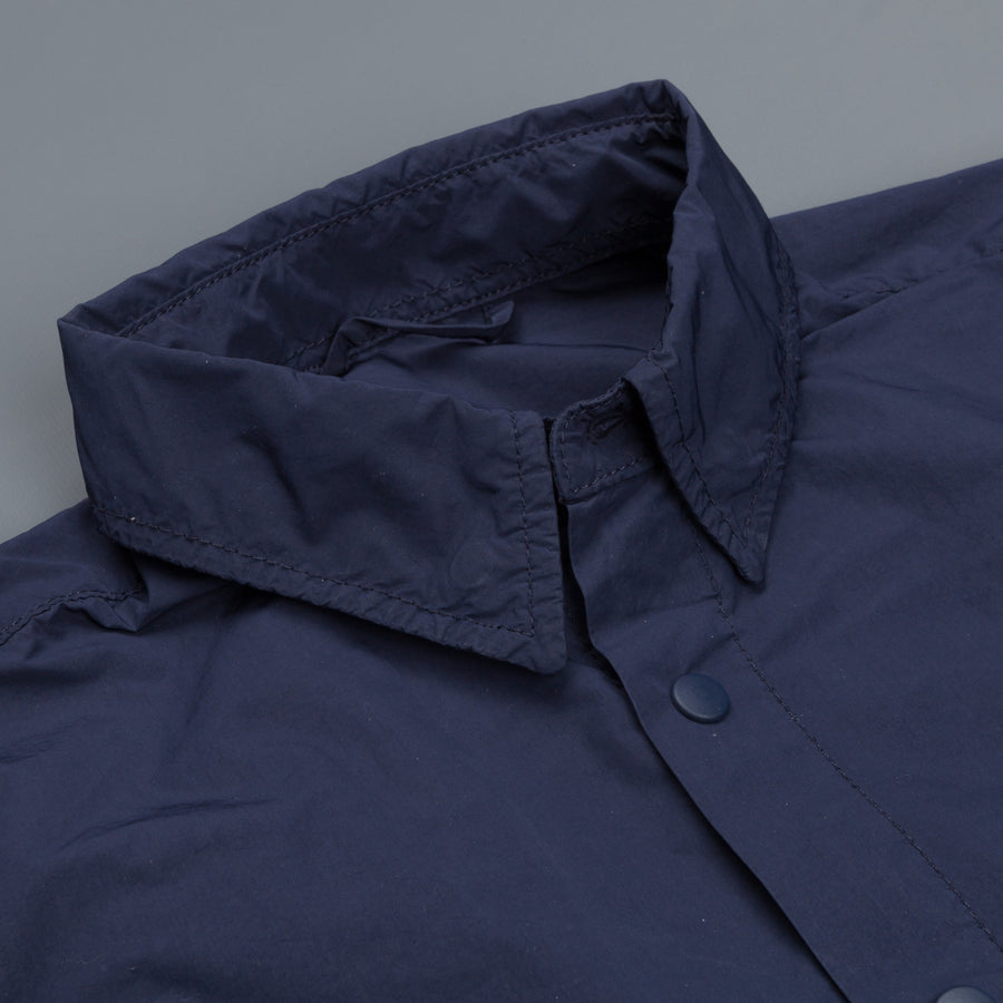 Aspesi Alvaro wind shirt bluette