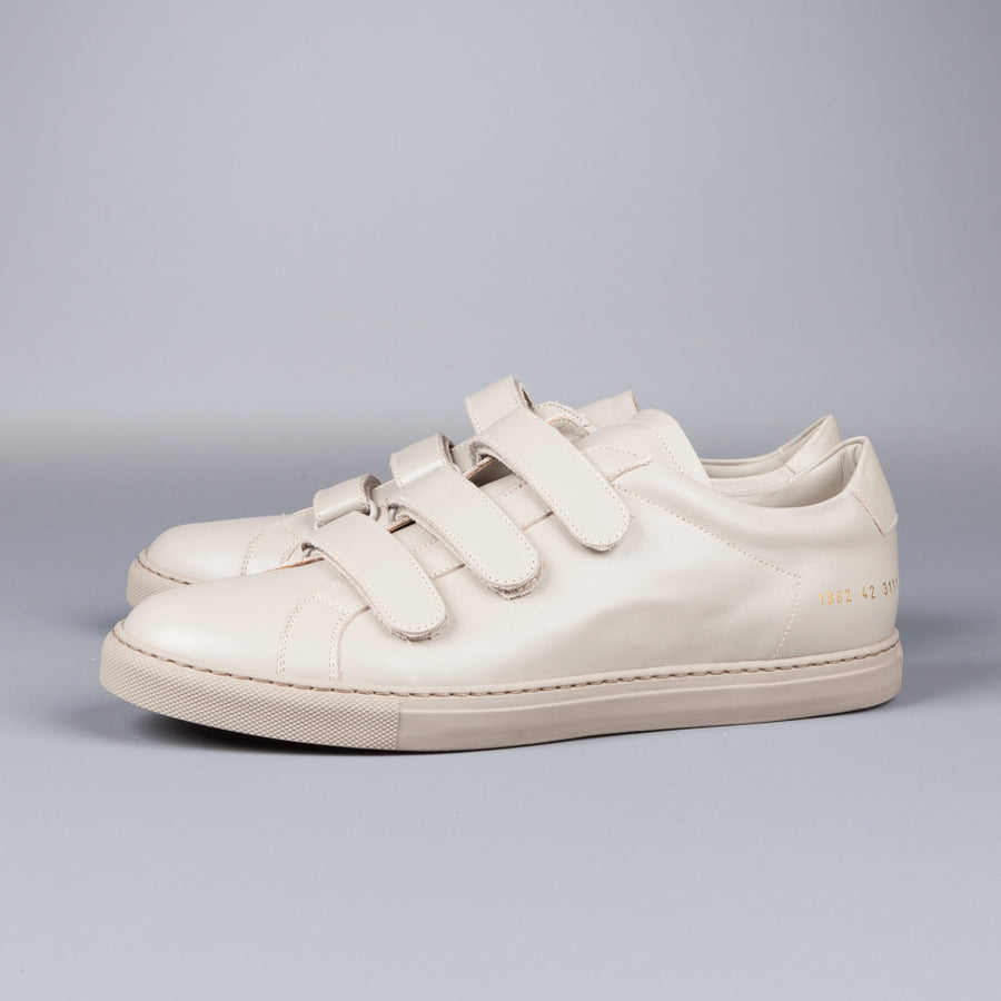 Common Projects Achilles Three strap 3strap Warm Grey