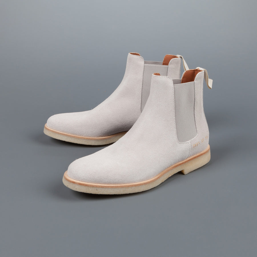 Woman by Common Projects Chelsea boot in Grey Suede