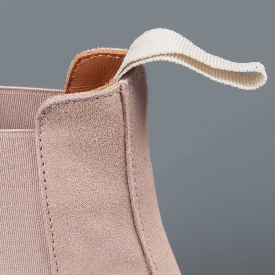Common Projects Woman by Common Projects Chelsea boot in Blush Suede