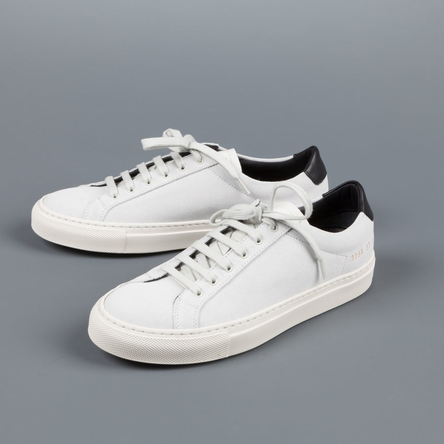 Woman by Common Projects Achilles retro low suede white