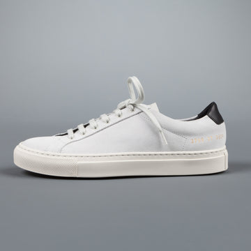 Common Projects Woman by Common Projects Achilles retro low suede white
