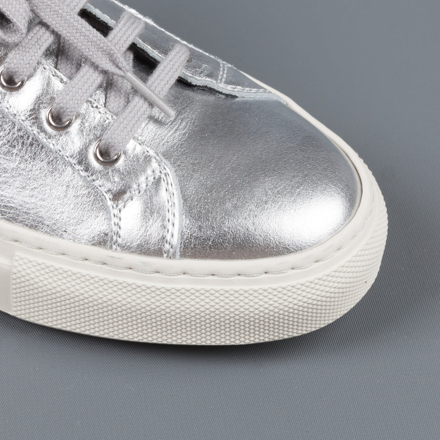 Common Projects Woman by Common Projects Achilles retro low Silver black