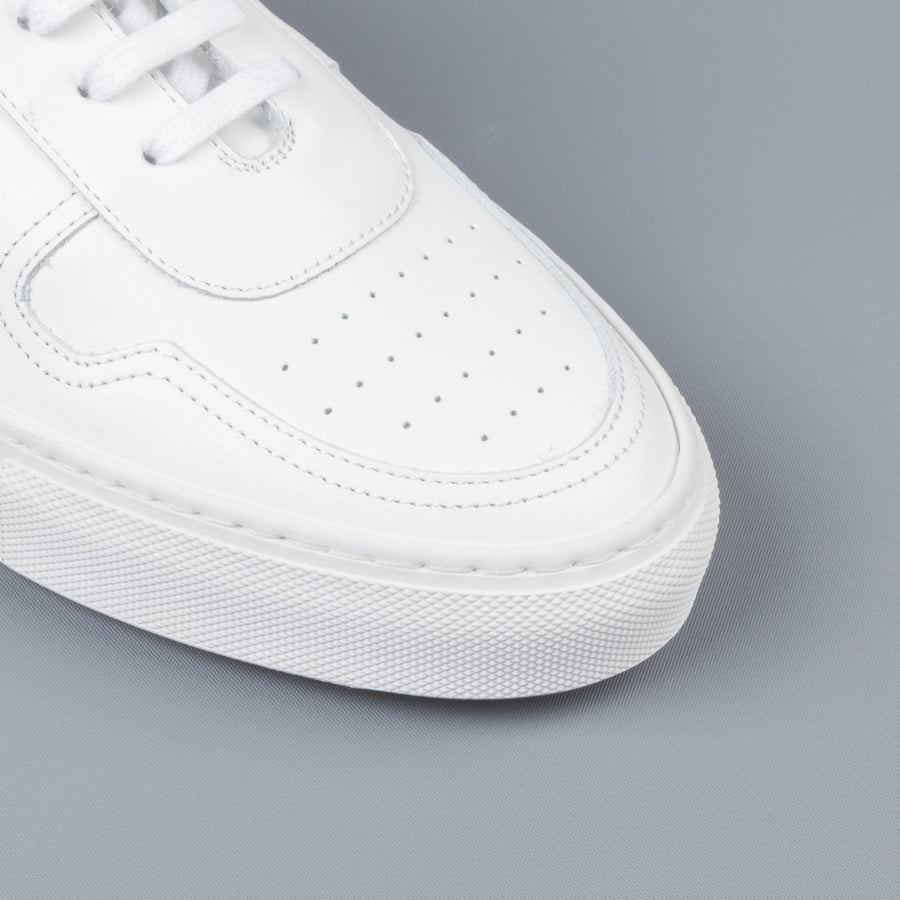 Common Projects Bball low in leather White