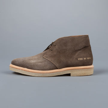 Common Projects Chukka in waxed suede Olive