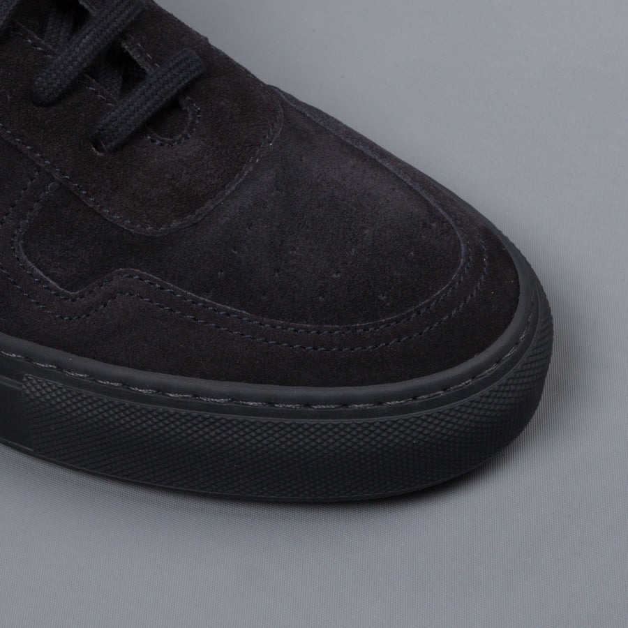 Common Projects BBall Low in suede Navy