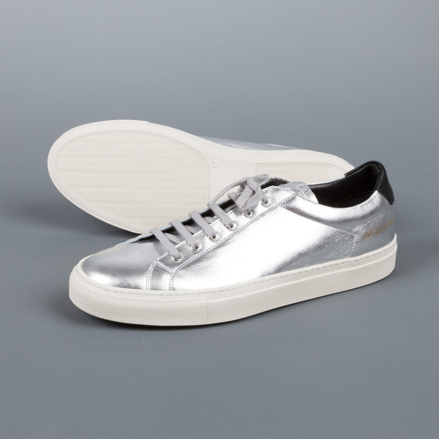 Common Projects  2073 Achilles Retro Low 0547silver-Black